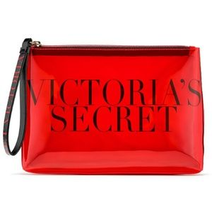 """Victoria's Secret """"The Perfect Red Beauty Bag"""""""